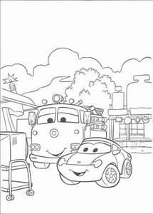 Okul öncesi şimşek Araba Boyama Calendarios Hd