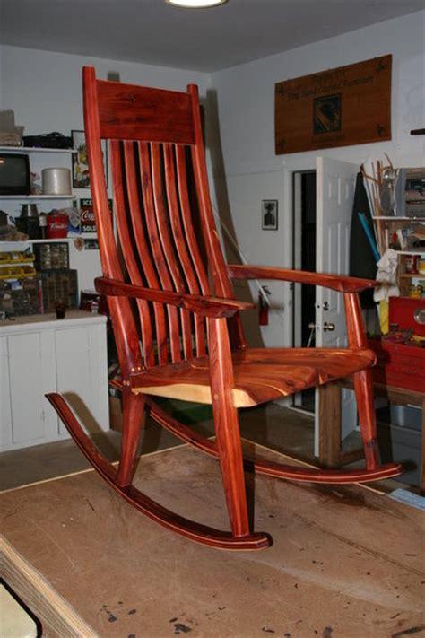 cedar rocking chair plans  woodworking