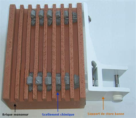 scellement brique creuse construction maison b 233 ton arm 233