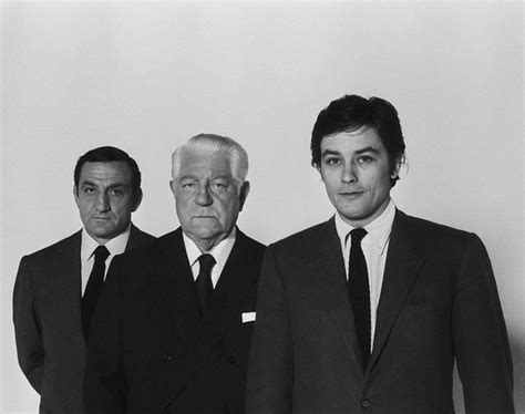 jean gabin lino ventura lino ventura jean gabin alain delon people to