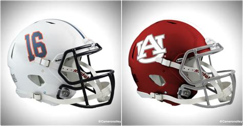 college football colors college football helmets got switched with its rival s