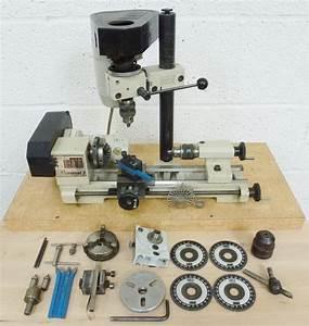 EMCO UNIMAT 3 AND MILL « Pennyfarthing Tools Ltd