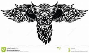 Owl. Tattoo Design Stock Vector - Image: 42057225