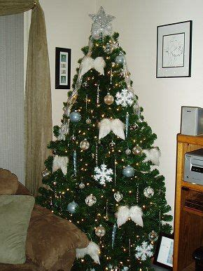 angel theme christmas tree christmas tree themes color