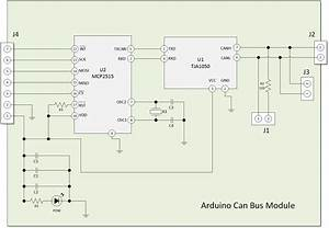 Arduino Can Bus Module Schematics And Pin Outs