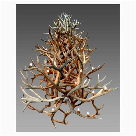 antler chandelier canada 30 000 foraged elk antler chandelier luxury residence
