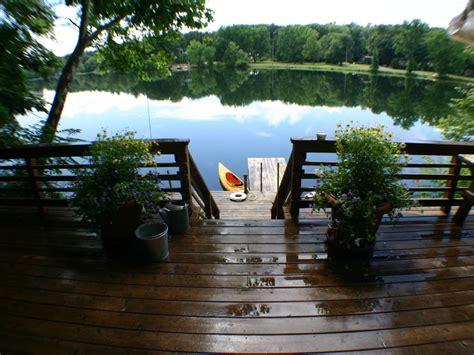 private lakefront cottage  spring fed la vrbo