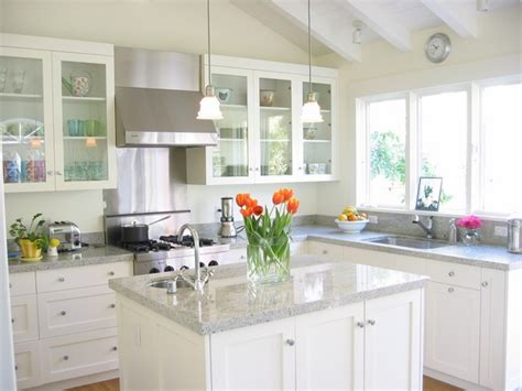 kashmir white granite countertops  ideas   kitchen