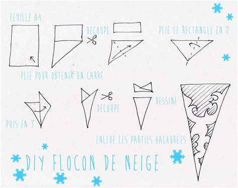 flocon de neige en papier flocons de papier kissed by
