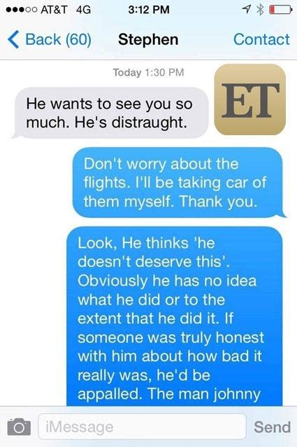 exclusive amber heards texts   detail alleged