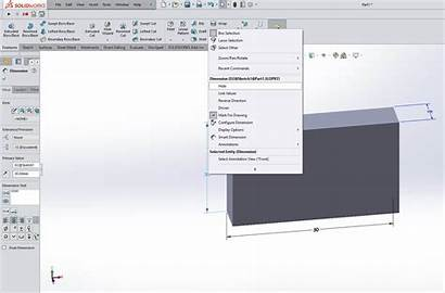 Hide Solidworks Dimensions Dimension Environment
