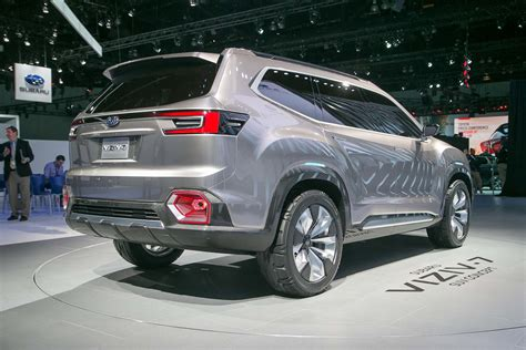 subaru suv subaru viziv 7 suv concept first look review