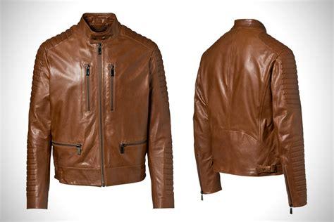 Motocross Style Leather Jacket