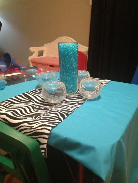 Sweet 16 centerpiece. All of the vases as well as the ...