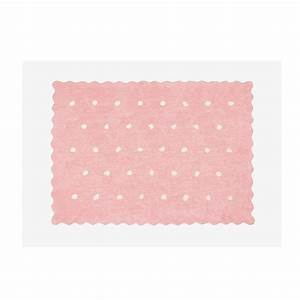 tapis rose clair idees de decoration interieure french With tapis rose clair
