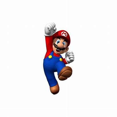 Mario Poing Autocollant Render Fond Mame