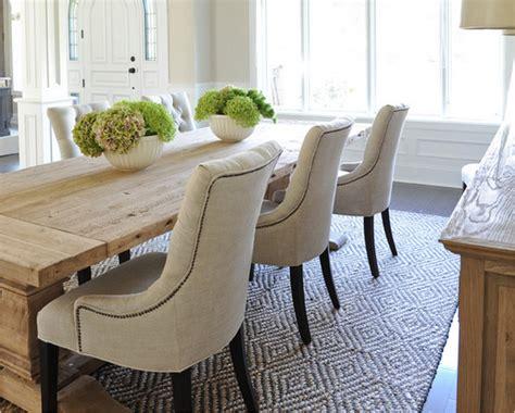 chaises en cuir pour salle a manger deco maison moderne