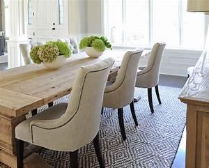 chaises en cuir pour salle a manger deco maison moderne With idee deco cuisine avec chaise de salle a manger en cuir noir