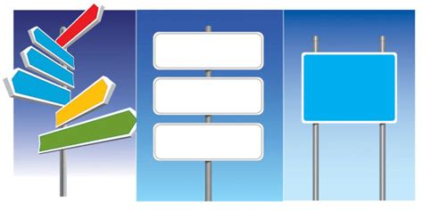 road signs vector graphic graphic hive