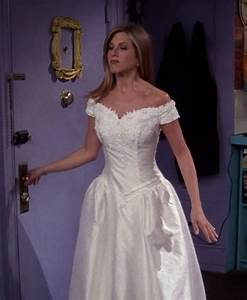 rachel green39s wedding dress from friends wedding stuff With friends wedding dress