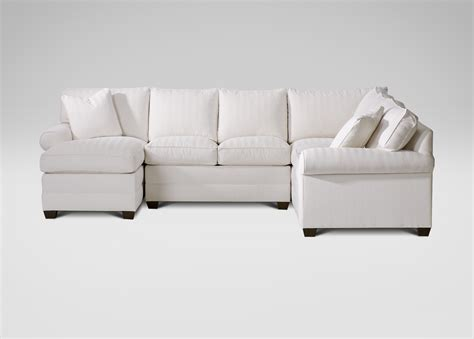ethan allen sofa with chaise bennett roll arm sectional with chaise ethan allen