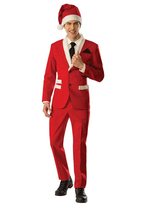 men s christmas santa suit