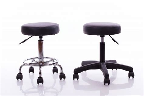 Meistara krēsls RESTPRO® Round 1 black (kosmetologa ...