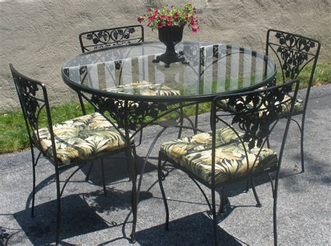 iron patio furniture pros and cons of wrought iron patio furniture
