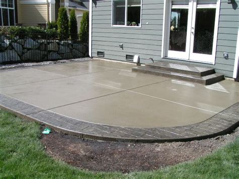 concrete patio floor ideas 17 best ideas about colored concrete patio on
