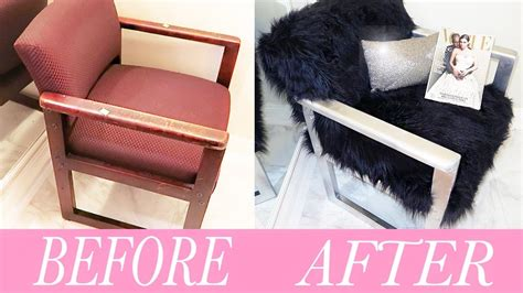diy fur chair