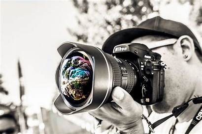 Camera Background Nikon Wallpapers Dslr Backgrounds Lens