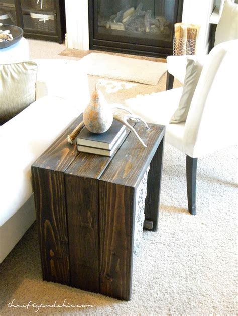 diy wood end table diy end table dog crate online woodworking plans
