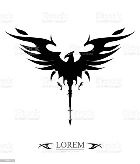 Download 381 vector icons and icon kits.available in png, ico or icns icons for mac for free use. Black Tribal Phoenix Stock Illustration - Download Image ...