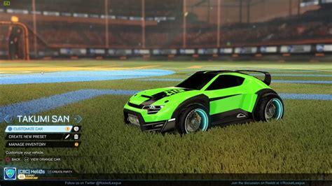Choosing A Car In Rocket League!