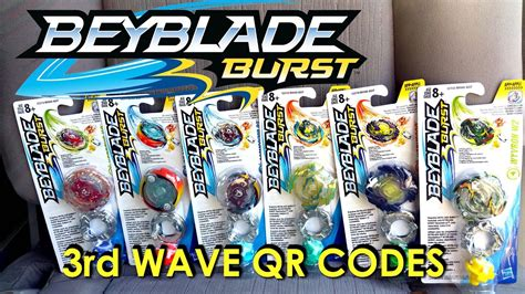 Best Coloring Qr Codes by Beyblade Burst Hasbro Qr Codes 3rd Wave Part 1 For