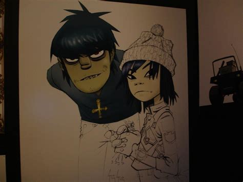 A Visual Retelling Of Gorillaz Four Musical Phases