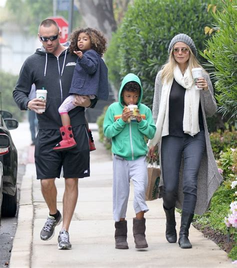 She appeared on the cover of the sports illustrated swi. Heidi Klum Photos Photos - Heidi Klum On a Coffee Run With Her Kids - Zimbio