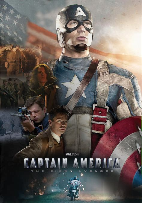 captain america poster3 captain america fan poster by bigbmh on deviantart