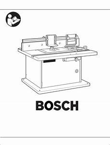 Bosch Power Tools Router Ra1171 User Guide