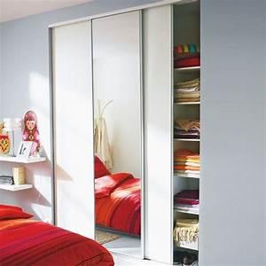 Porte Placard Coulissante Castorama : portes de placard coulissantes miroir 250 x 180 ~ Farleysfitness.com Idées de Décoration