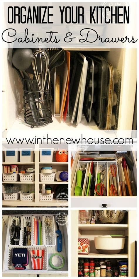organizing your kitchen cabinets and drawers 25 best ideas about organizing kitchen cabinets on 9018