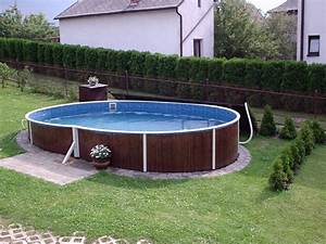 Piscine Hors Sol Acier Imitation Bois : hors sol acier aquastar piscines ~ Dailycaller-alerts.com Idées de Décoration