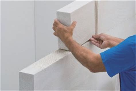 monter une cloison en beton cellulaire ou en carreaux de