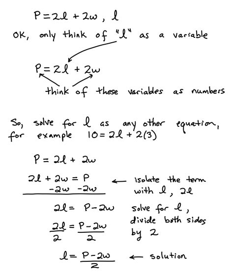 solving formula equations algebra test helper