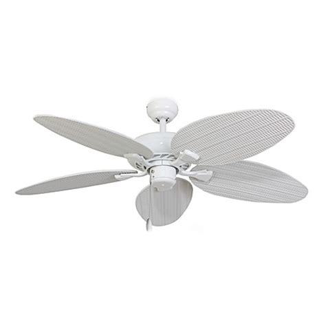52 inch white ceiling fan 52 inch islamorada white ceiling fan bed bath beyond