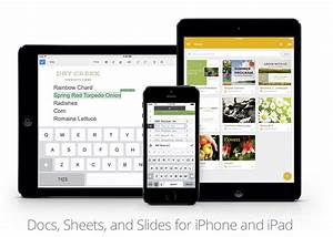 google releases slides app for iphone ipad updates to With google docs app iphone