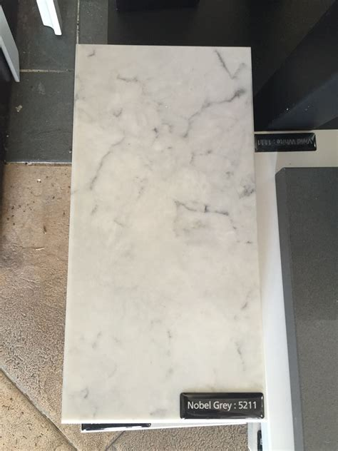 Caesarstone marble look alike countertop with potential