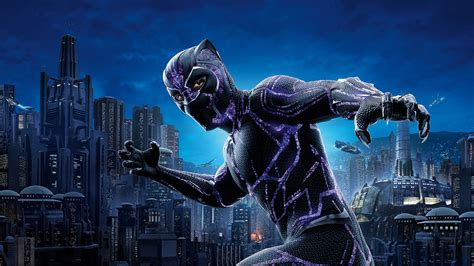 Wallpaper Black Panther, Chadwick Boseman, 5k, Movies #17499