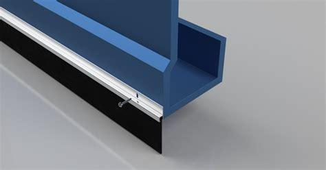 rubber garage mm door seal stormguard