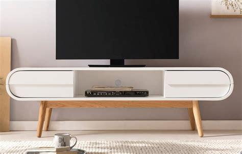retro tv board salesfever tv lowboard mit 2 schubladen und fach im retro style 187 anniki 171 kaufen otto